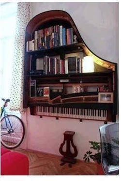 Ideas for retired pianos