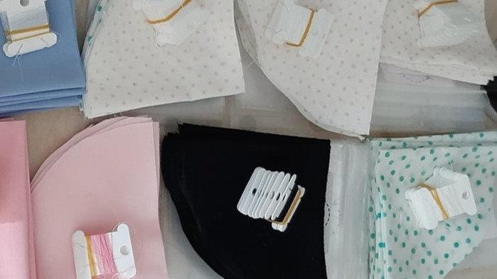 Facemask sewing kit