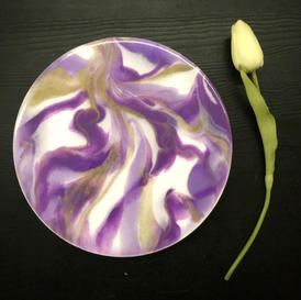 20cm Round Artwork - $50