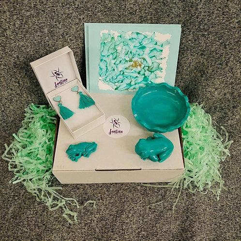 Aqua Frog Lovers - Medium - Gift Pack