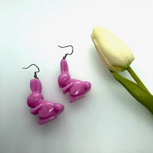 Rabbit Easter Earrings