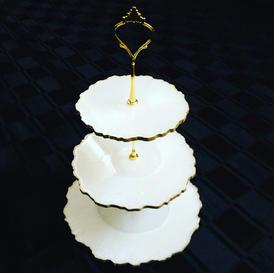 Round 3 tier cupcake stand - $100