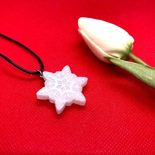 Snowflake Christmas Pendant - Large star shape