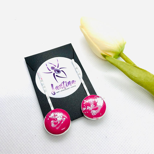 Hot Pink Hair Pin