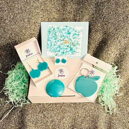 Aqua Apple Lovers - Medium - Gift Pack