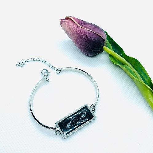 Stainless Steel Rectangle Bracelet