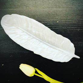 Feather Trinket Bowl - $55