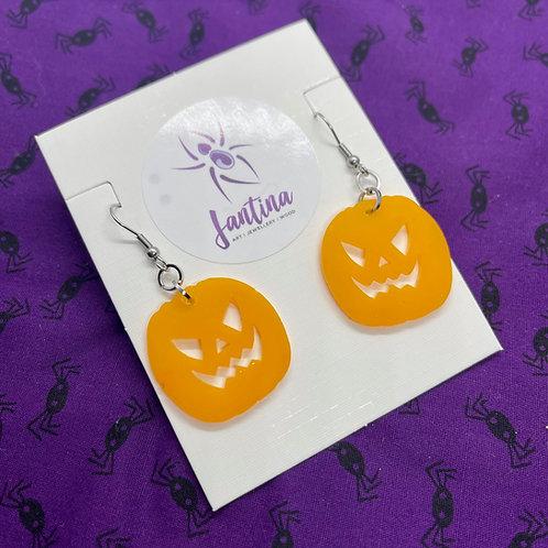 Crazy Pumpkin drop Earrings
