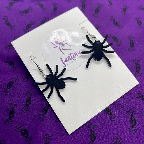Spider drop Earrings