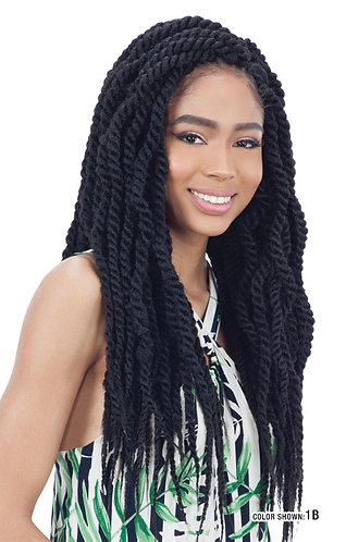 CUBAN TWIST BRAID 18""