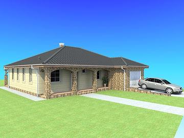könnyűszerkezetes ház