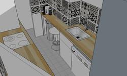 Plan cuisine Issy les moulineaux