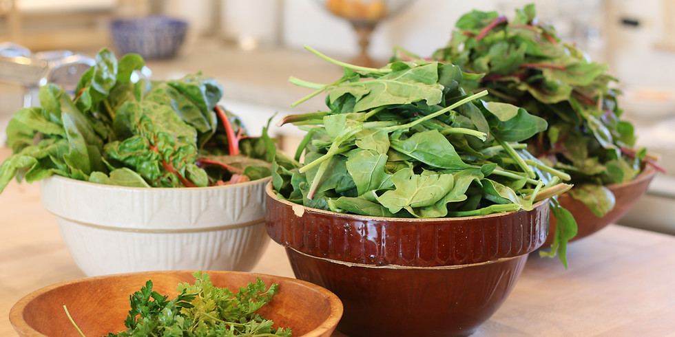 Cooking, Using and Eating Greens
