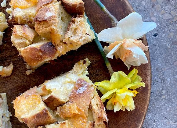Candied Citrus Bread Pudding