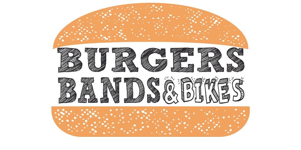 Burgers Bikes & Bands