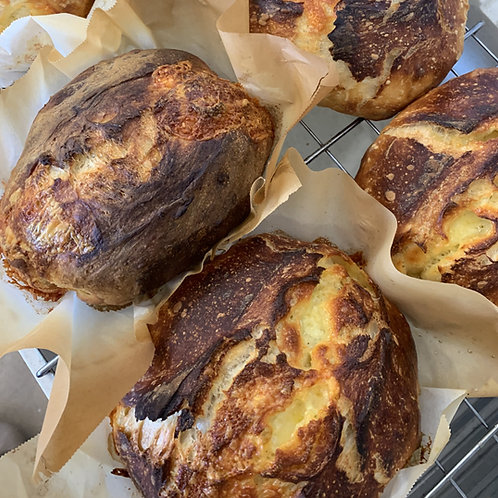 Sourdough Cheddar Loaf
