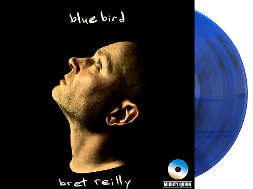 Limited Edition Blue Vinyl Album