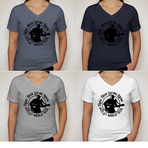 PRE-ORDER Custom T-Shirts — Women's V-Neck