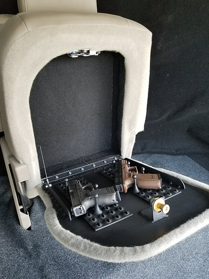 GM FULLSIZE TRUCK REAR SEAT VAULT 2007 AND UP SMALL SIDE