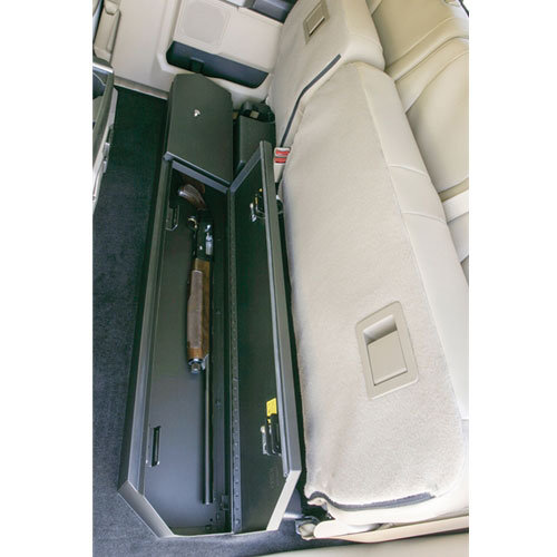 Ford F- Series SUPERcab Under Rear Seat Vault