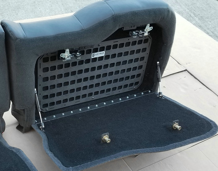 GM rear seat stealth vault (large side)