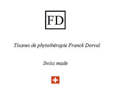 Tisanes phytothérapie Franck Dorval