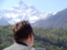 Franck Dorval en tourné dans le Valais