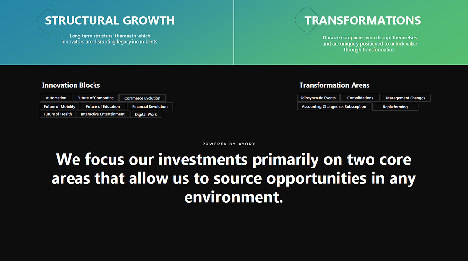 Structural Growth and Transformation Sto