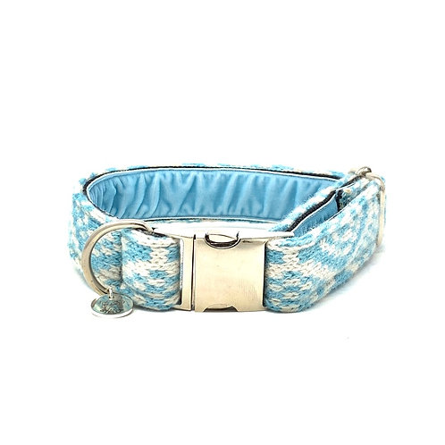 Turquoise & Dove - Barclay Design - Dog Collar