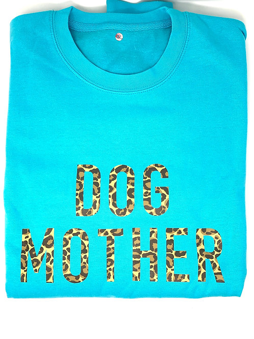 Dog Mother - Turquoise Jumper - XL