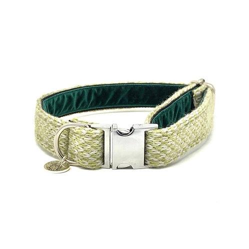 Green & Dove - Harris Design - Dog Collar