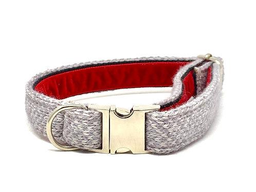 Grey & Dove - Harris Design - Dog Collar