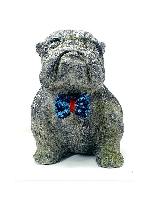 Blue & Navy - Kerr Design - Dog Bow Tie