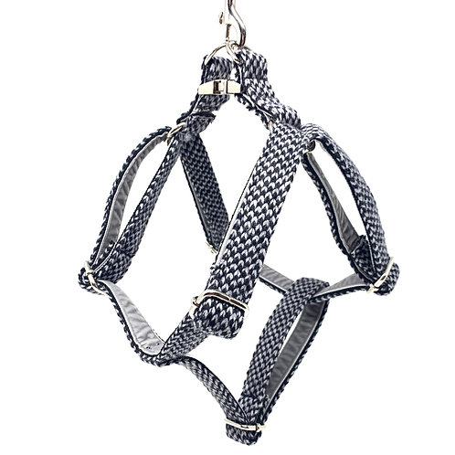 Black & Grey - Harris Design - Dog Harness