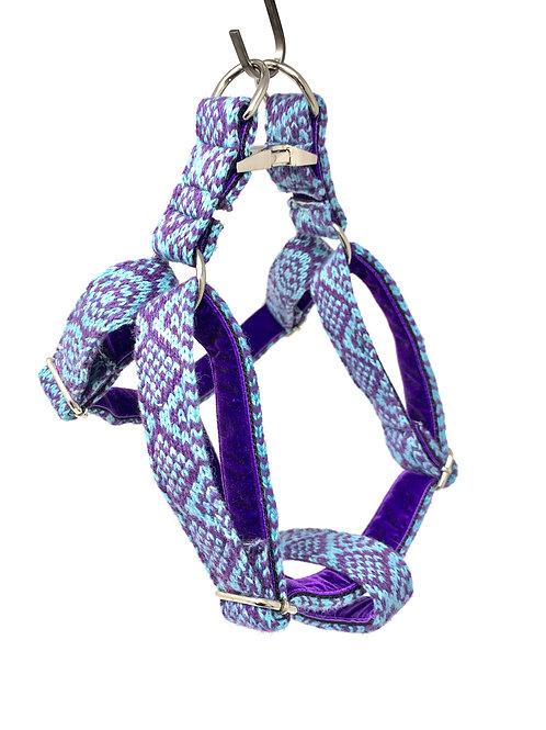 Purple & Turquoise - Barclay Design - Dog Harness