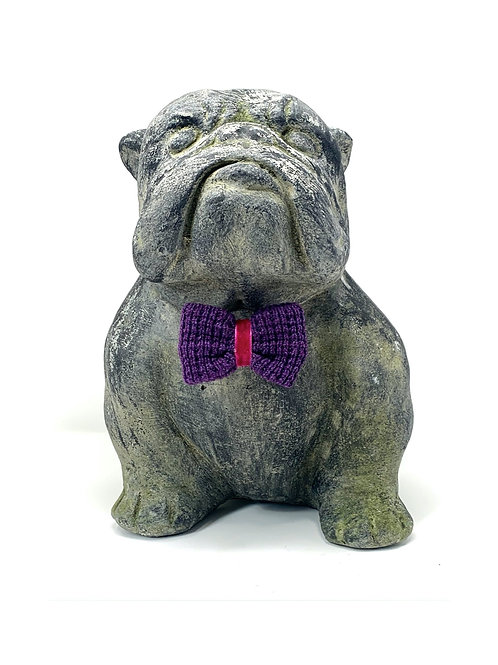 Purple Pink - Dog Bow Tie