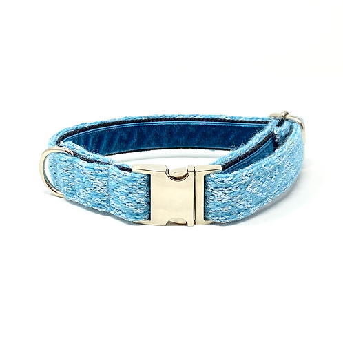 Blue Sparkle - Barclay Design Dog Collar