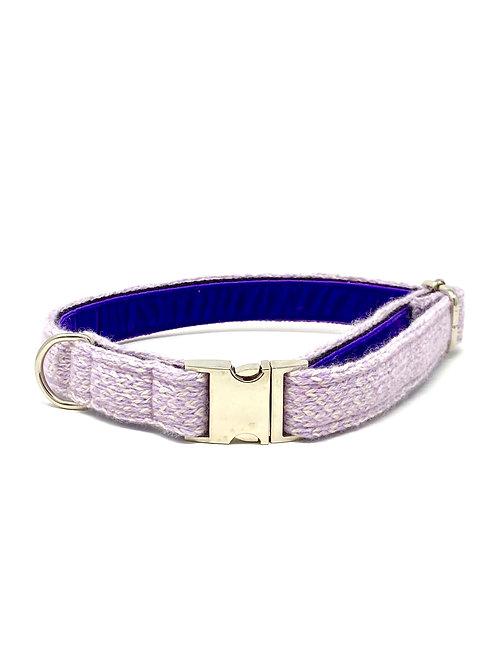 Lilac & Dove - Harris Design - Dog Collar