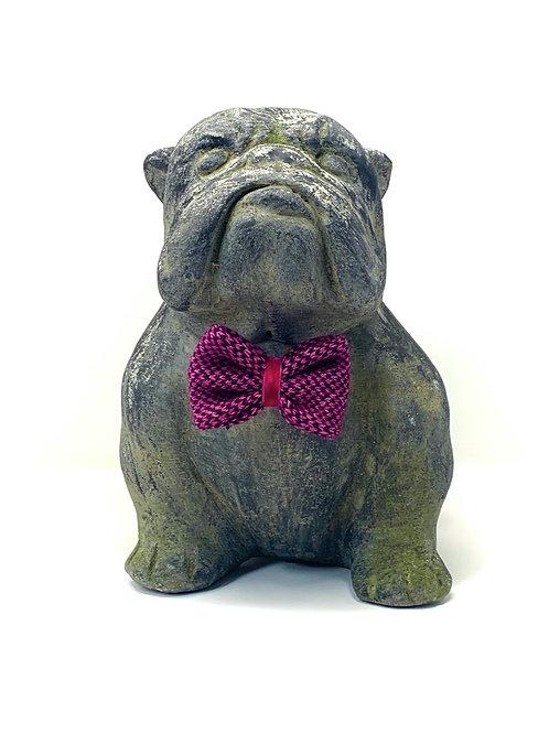 Pink & Black - Harris Design - Dog Bow Tie