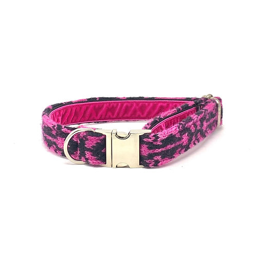 Black & Pink - Kerr Design - Dog Collar