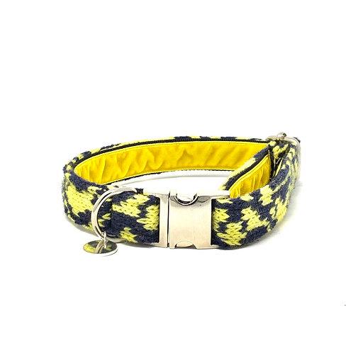 Black & Yellow - Kerr Design - Dog Collar