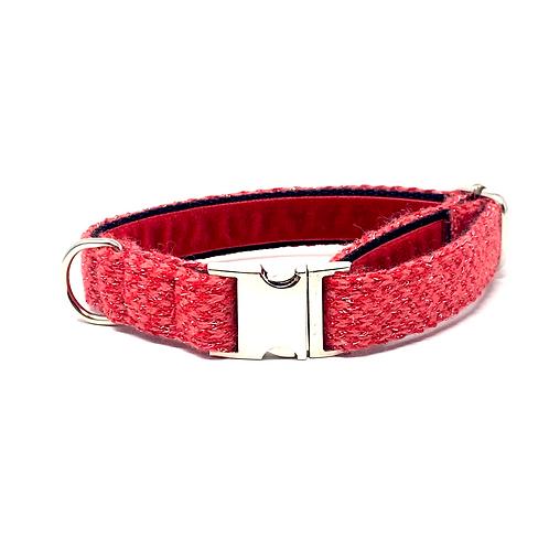 Red Sparkle - Harris Design Dog Collar