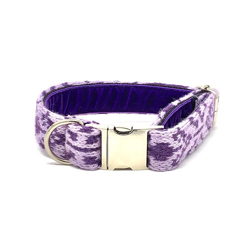 Purple & Lilac - Kerr Design - Dog Collar