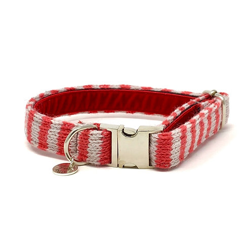 Geranium & Dove - Wallie Design - Dog Collar