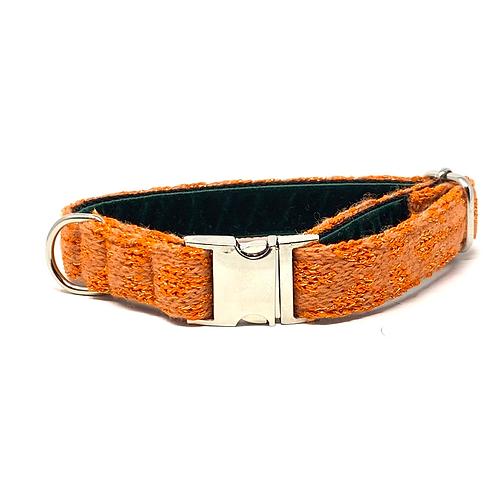 Orange Sparkle - Kerr Design Dog Collar