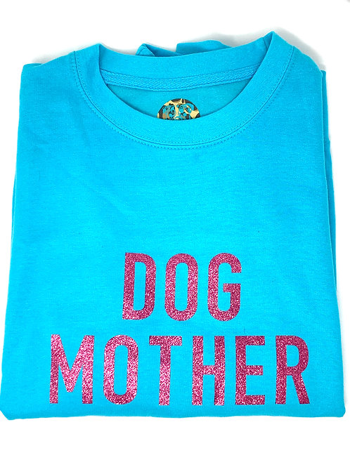 Dog Mother - Turquoise Jumper - Small