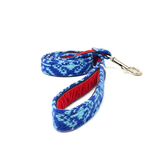 Royal Blue & Turquoise - Kerr Design - Dog Lead