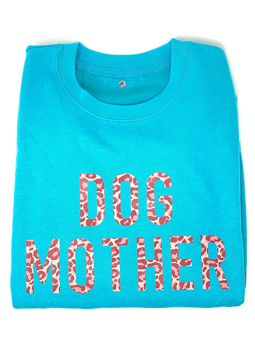 Dog Mother - Turquoise Jumper - Medium