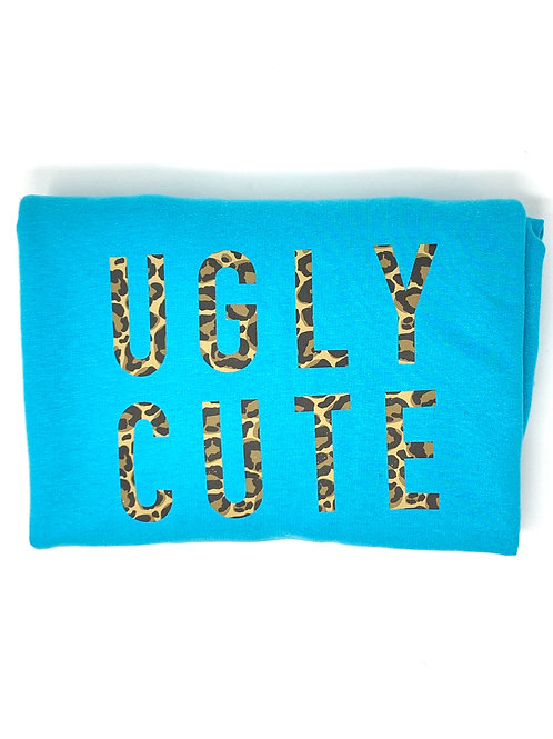 Ugly Cute -Turquoise Jumper - Medium