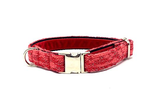 Red Sparkle - Kerr Design Dog Collar